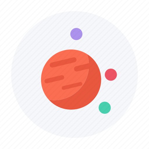 jupiter, outer space, planet, saturn, space icon