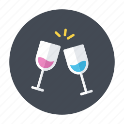 accomplish, cheers, congrats, congratulations, toast icon