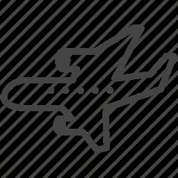 air, airplane, plane icon