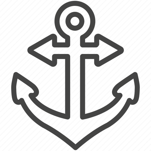 Anchor, boat, ship icon - Download on Iconfinder