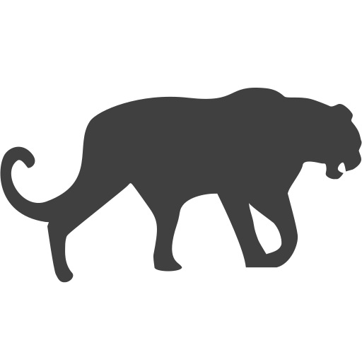 endangered, leopard, panther icon