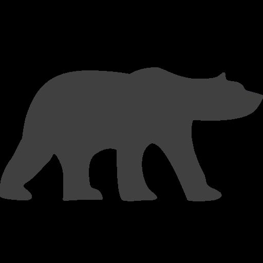 bear, endangered, polar bear icon