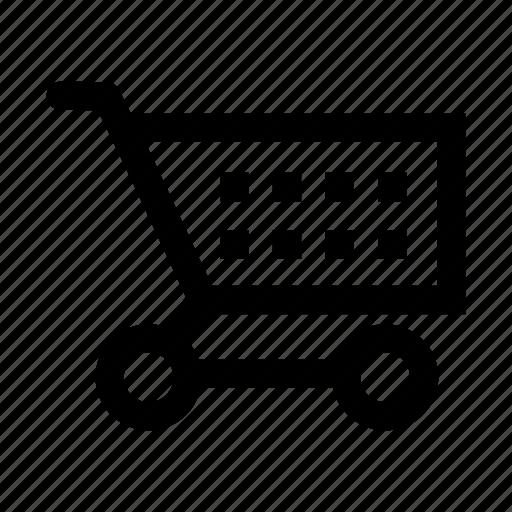 cart, empty, shopping icon