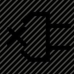 close, connection, delete icon