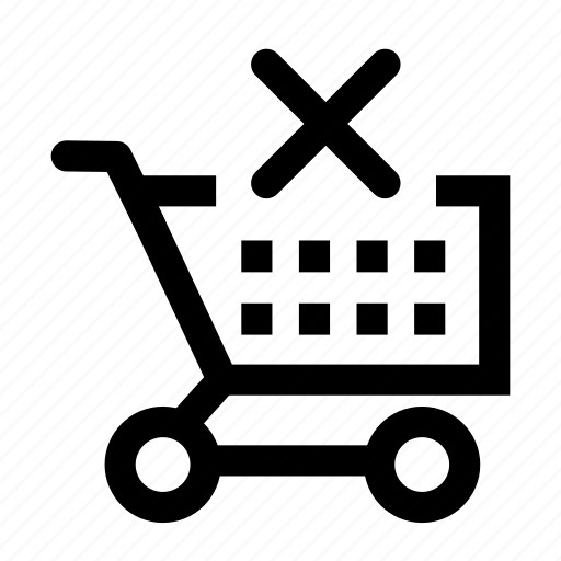 cart, clean, shopping icon