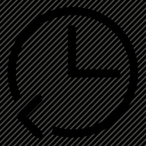 backward, replay icon