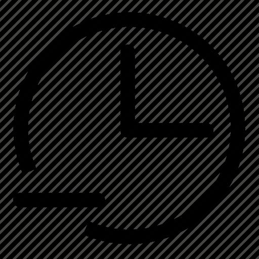 remove, time icon