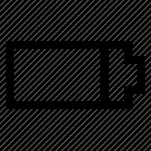 accumulator, battery icon