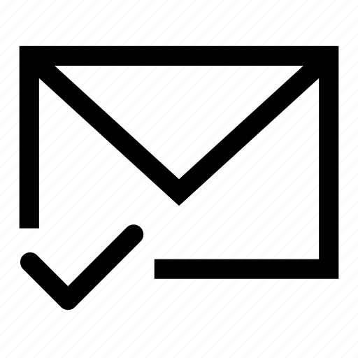 delivered, mail icon