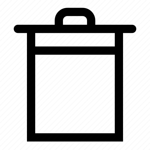 bin, recycle icon
