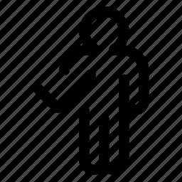 profile, ractive icon