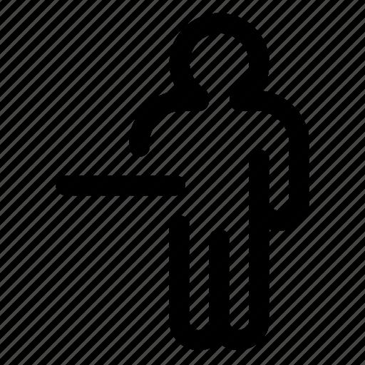 profile, remove, resume, vacation icon