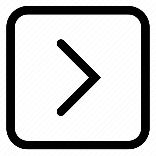 button, forward icon