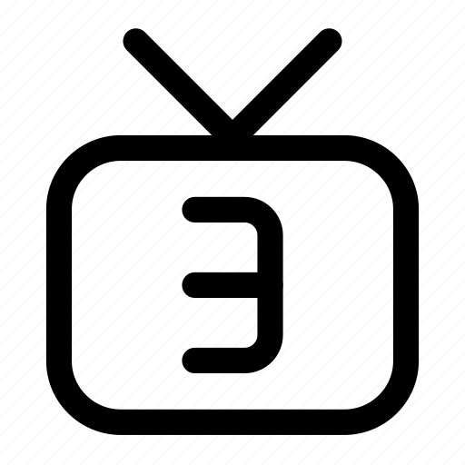 3, channel icon