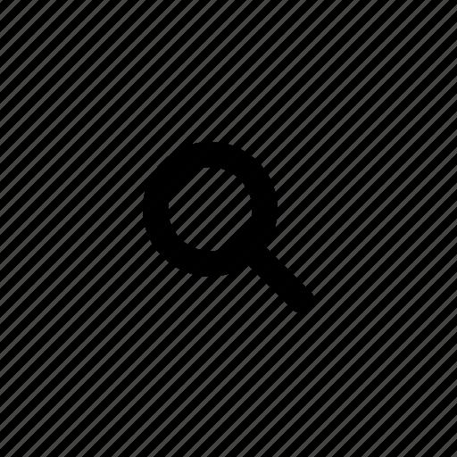 Search, lense icon