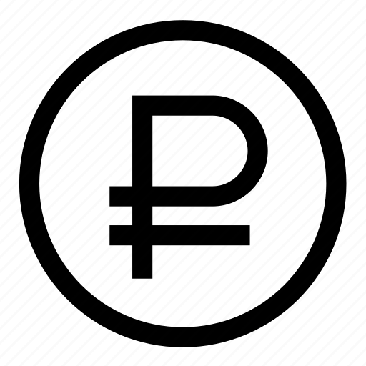 coin, ruble icon