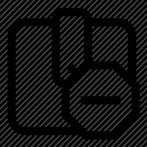 block, wallet icon