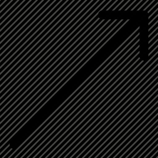 arrow, elevation icon