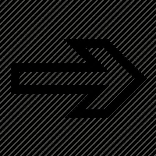 arrow, stability icon