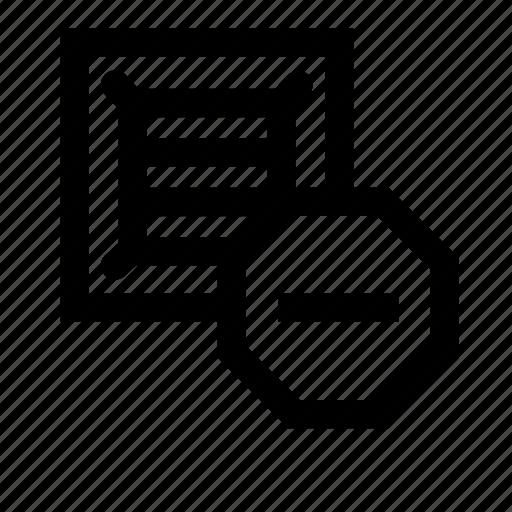 block, product icon