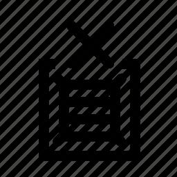 delete, product icon