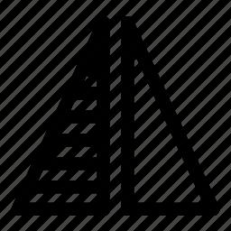 mirror, vertical icon