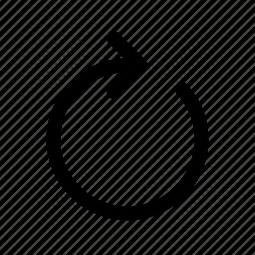 redo, refresh, repeat icon