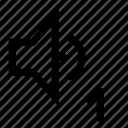 mono, sound, speaker icon