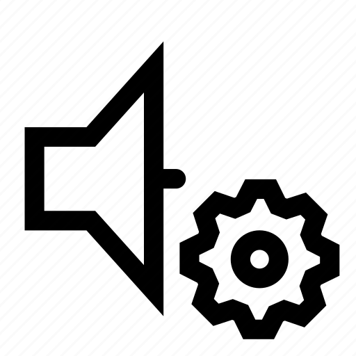 options, sound, speaker icon