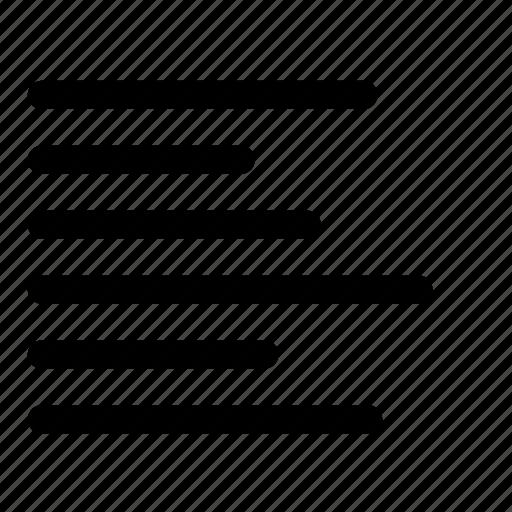 align, left, text icon