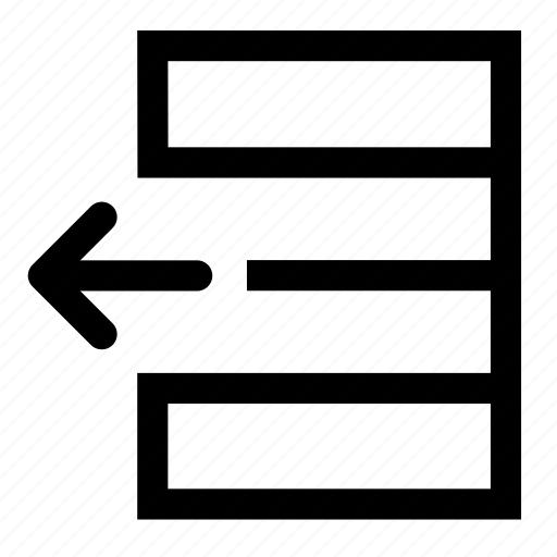 database, left, move, repository icon