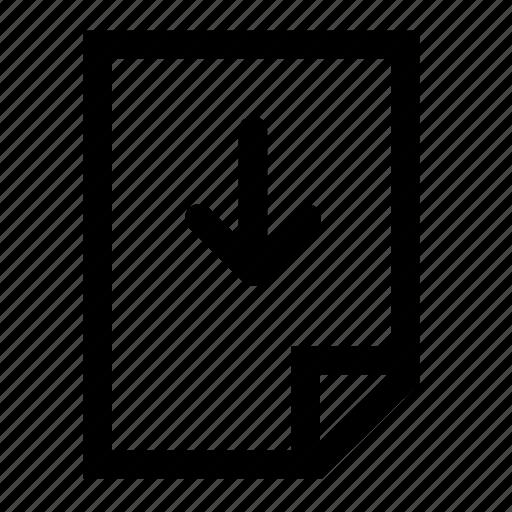 file, move, up icon
