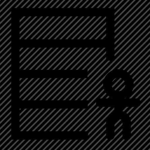 database, employee icon