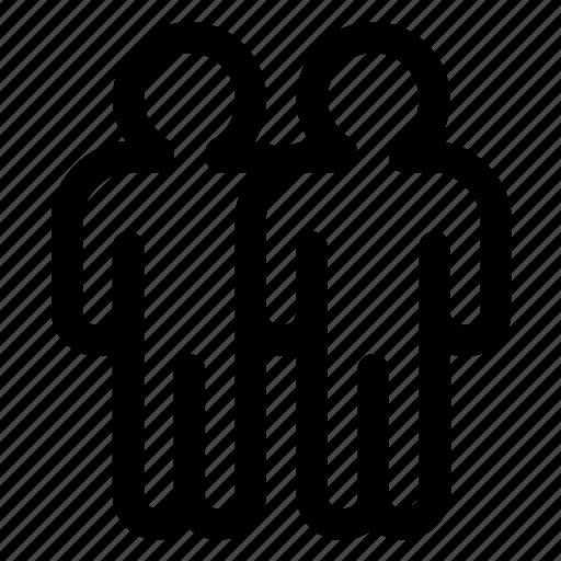 friends, group, men icon