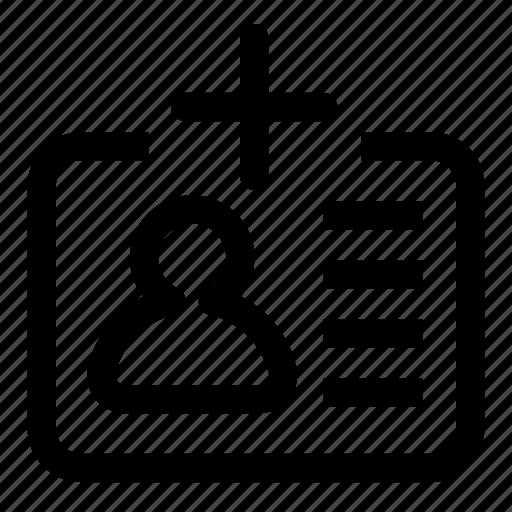 add, id icon