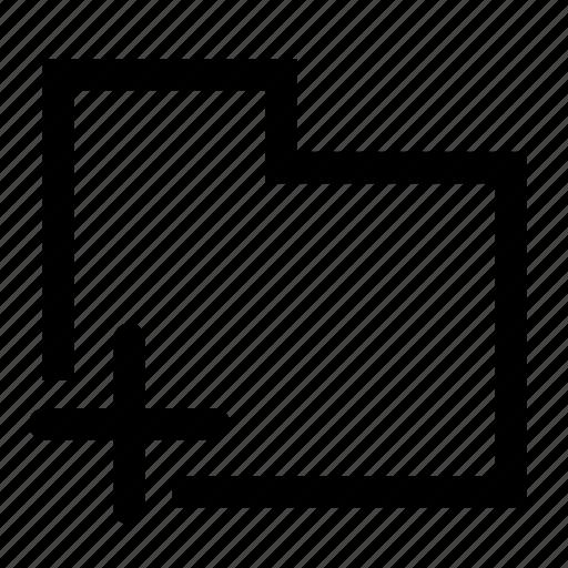 create, folder icon