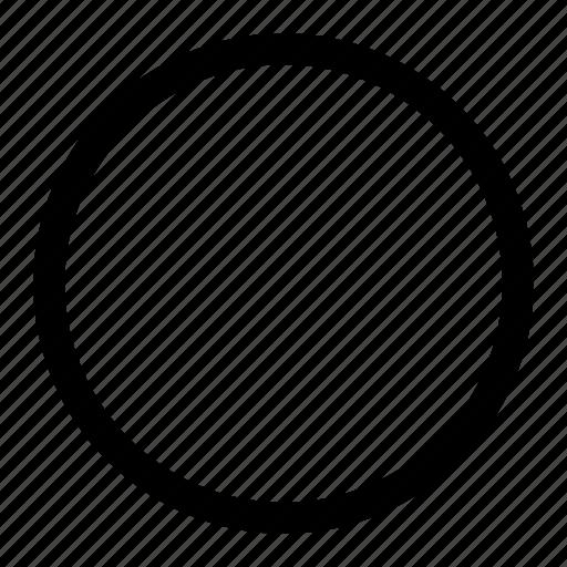 button, record icon