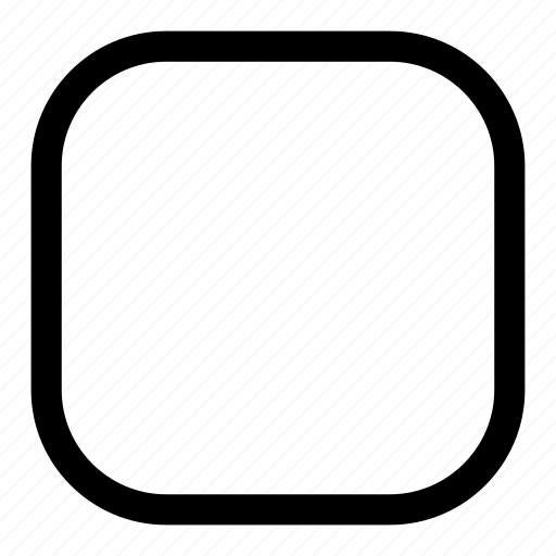Icon Png Square Rounded, square icon |...