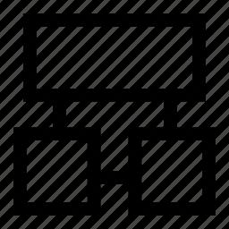 scheme, structure icon