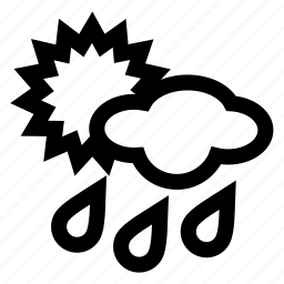 day, rain icon