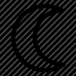 moon, night icon