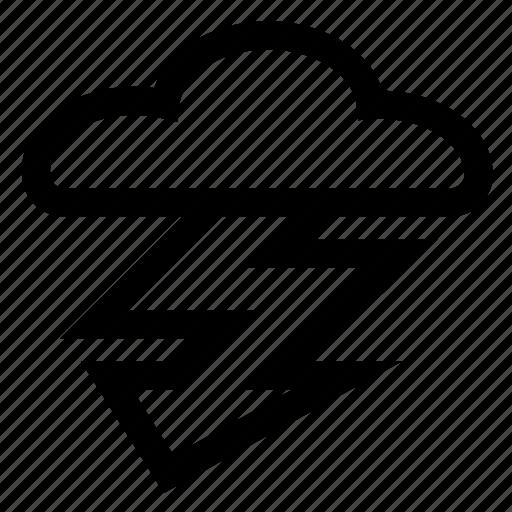 storm, thunderstorm icon