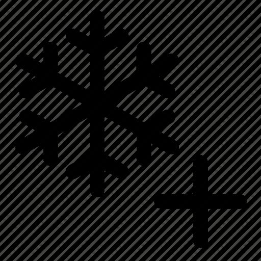 colder, temperature icon