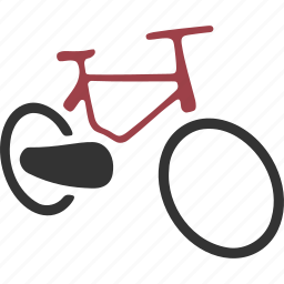 bicycle, bike, cycle, pedal, push, two, wheeler icon