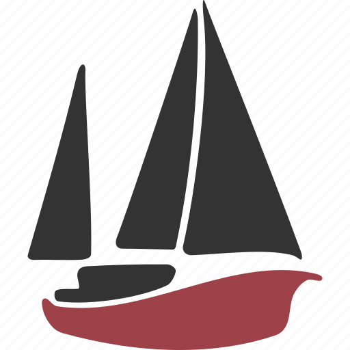 boat, lugger, pinnace, proa, sailboat, sailing, shallop, ship, vessel icon