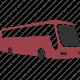 auto, autobus, bus, transport, transportation, travel, vacation, vehicle icon