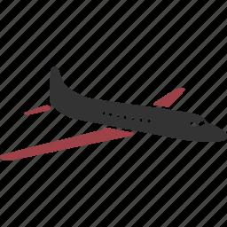 aeroplane, aircraft, airplane, navy, plane, propeller icon