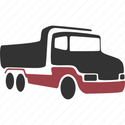 autotruck, camion, lorry, truck icon