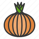 food, healthy, onion, vegan, vegetable, vegetarian icon