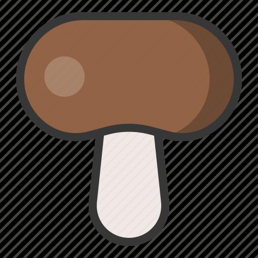 food, healthy, mushroom, vegan, vegetable, vegetarian icon
